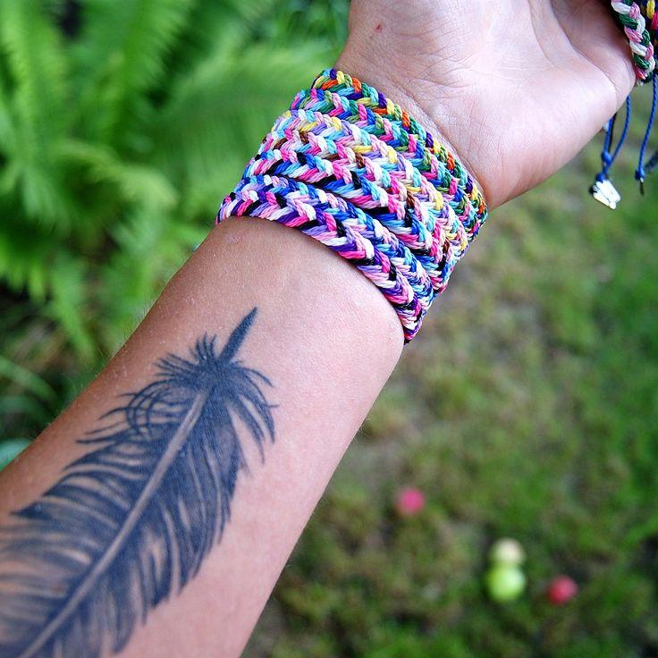 braid bracelets, bransoletki
