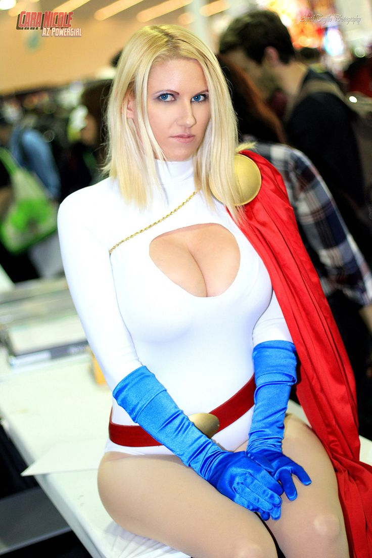 Powergirl nude bodypaint — pic 4