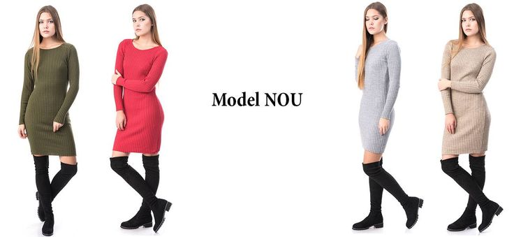 Rochia din tricot este la mare căutare în acest sezon. Comând-o și tu!     Link rochie 1051: http://www.adromcollection.ro/rochii/1000-rochie-angro-1051.html