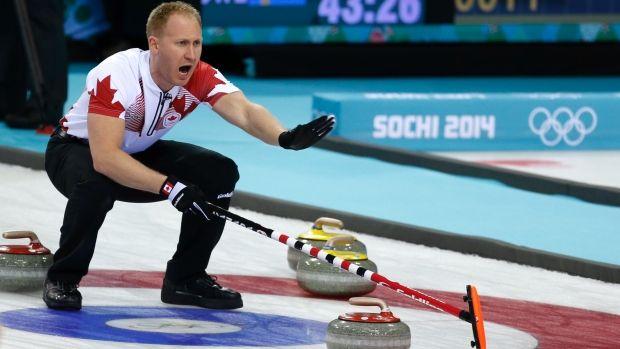 Brad Jacobs gets the W. CBC Olympics Sochi 2014