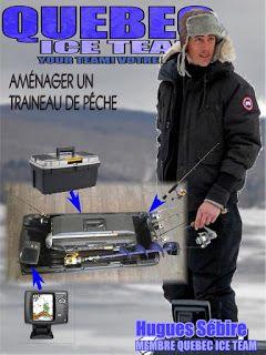 Québec Ice Team: Idées pour aménager votre traineaude pêche <!--[i...