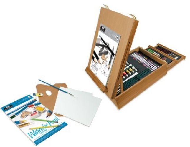 Royal and Langnickel All Media Easel Artist Set (150Piece)