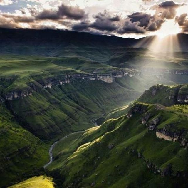 Drakensburg Mountains, Kwa-Zulu Natal, South Africa.