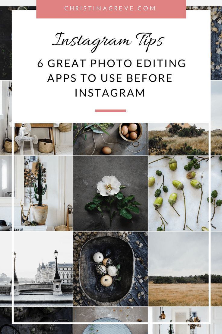 6 Great Photo Editing Apps To Use Before Instagram