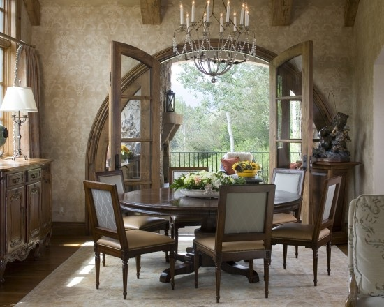 French Doors In Dining Room Endearing Design Decoration
