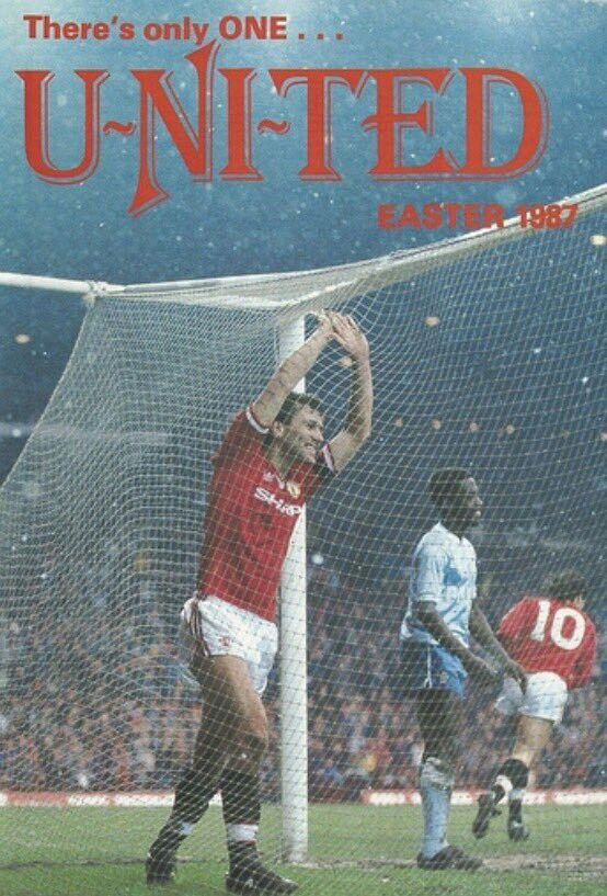 There's Only One United magazine. Easter 1987.