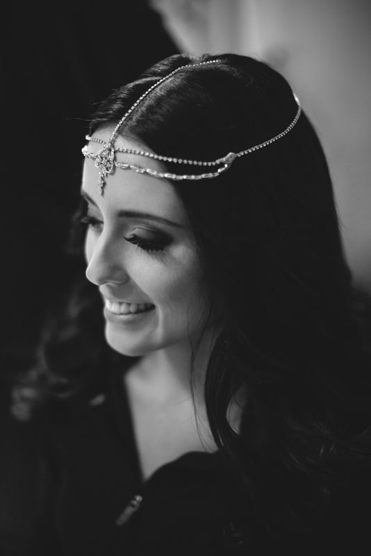 Beautiful bridal headpiece. Image: Cavanagh Photography http://cavanaghphotography.com.au