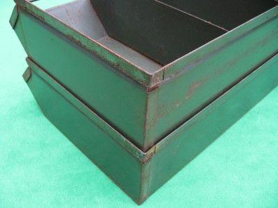 Stackbin Stacking 6 Section Steel Parts Storage Box Hardware Fastener Bin  Rack