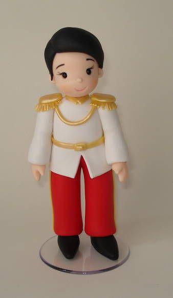 Principe da Cinderela   De Biscuit   2BA5D4 - Elo7