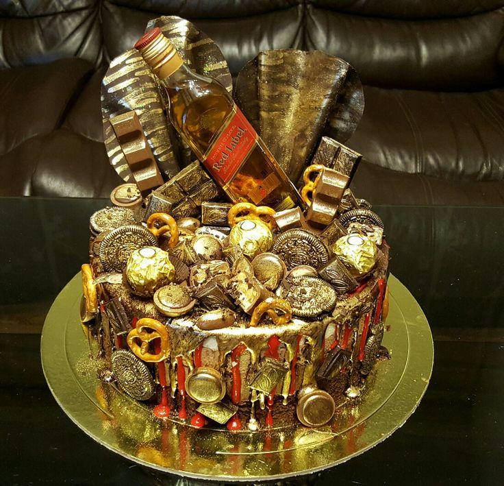 Три шоколада.  Абсолютно мужской ,брутальный торт. Мужчины, они как дети..... шоколад....много шоколада, много шоколада не бывает и алкоголь конечно.