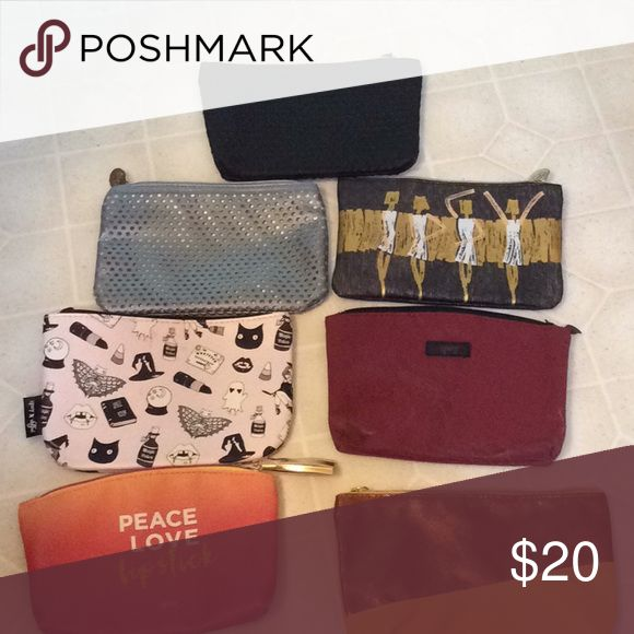 7 makeup bags! All from Ipsy never used! Great bag! Will also thrown in a few makeup samples :} ipsy Makeup Brushes & Tools