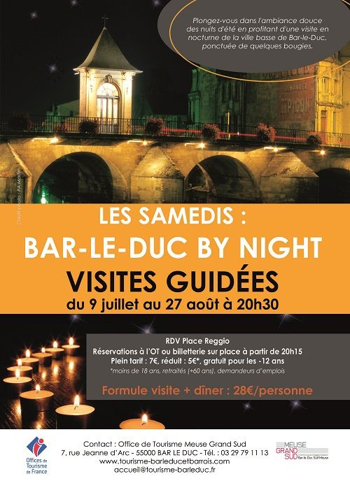 Bar-le-Duc by night
