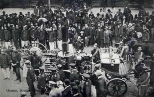 Bomba Germana Osorno, ceremonia de bomberos