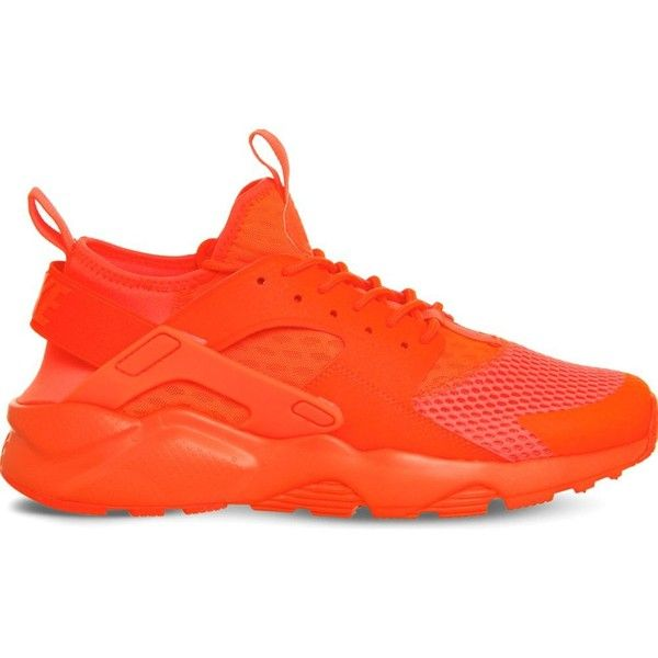 f61dc55eea72d ... NIKE Air huarache run ultra mesh trainers ($96) ❤ liked on Polyvore  featuring men's ...