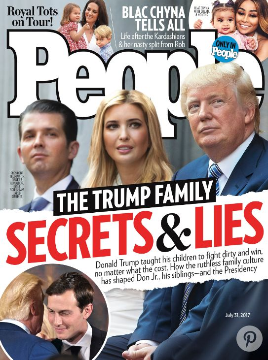The Trump-friendly magazine has finally had enough of the President and his family's antics.
