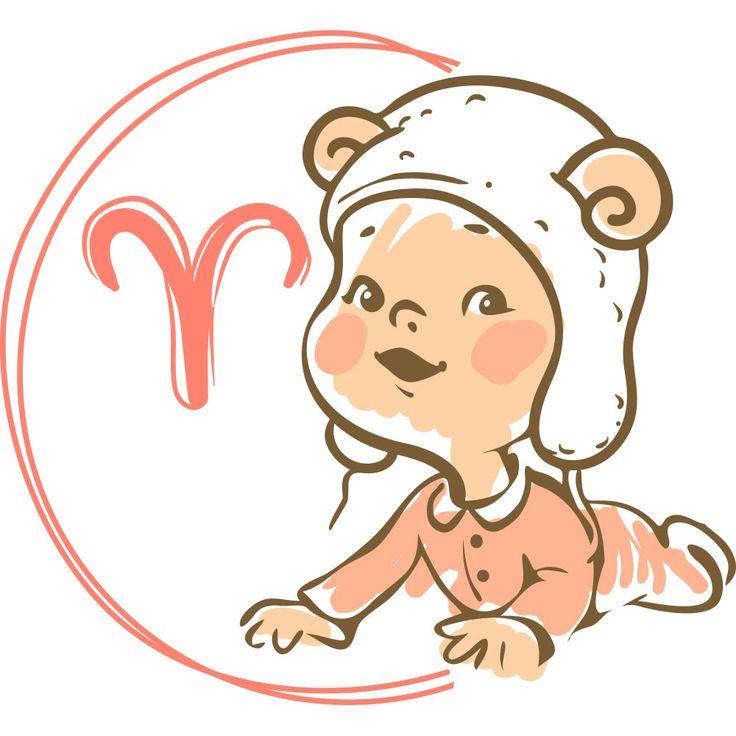 Картинка овен ребенок