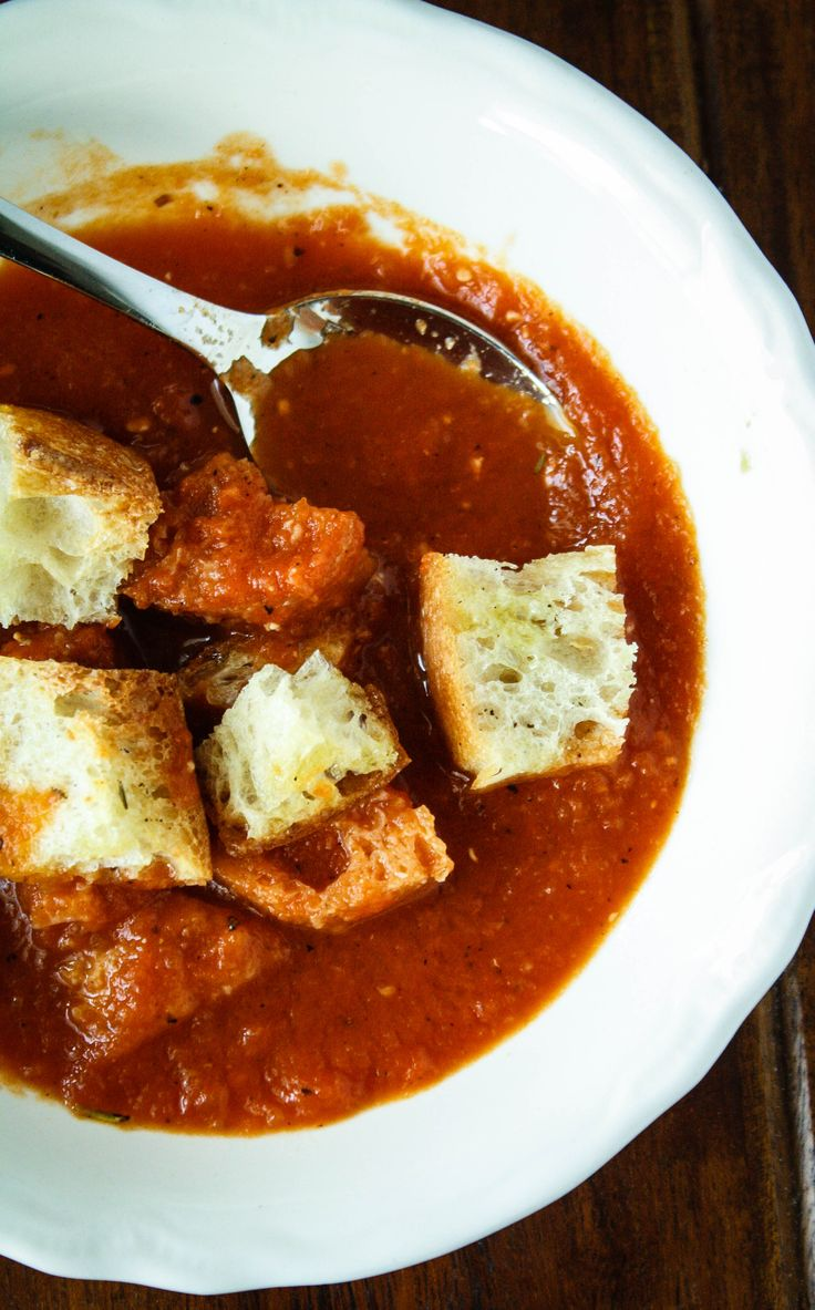 chunky tomato soup recipe in the free e-book on my blog www ...
