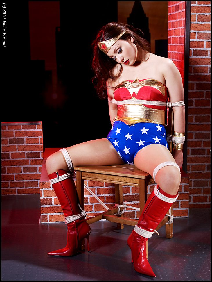 Wonder woman tied up amp fucked featuring jennyblighe 3