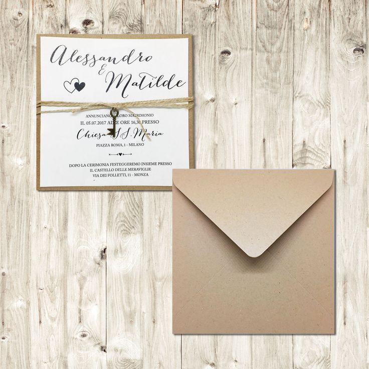 Una selezione di Bomboniere originali e Articoli per il matrimonio: partecipazioni shabby chic e accessori sposa con tante idee per il tuo matrimonio