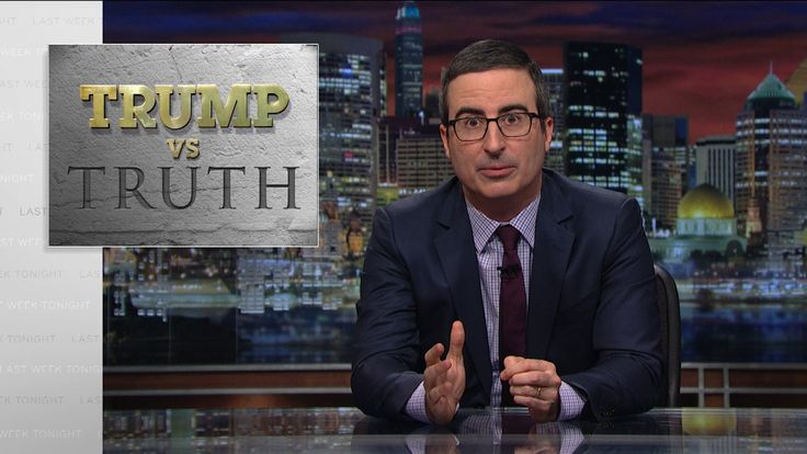 "John Oliver connects the dots to find ""pathological liar"" Donald Trump's news sources The ""Last Week Tonight"" host picked the meat from Trump's skeletons of falsehoods"