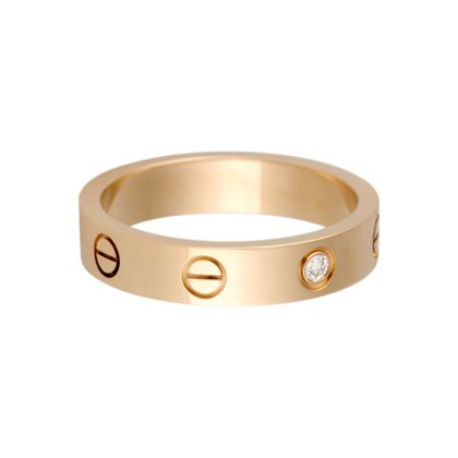 fake cartier love rings rose gold with diamonds