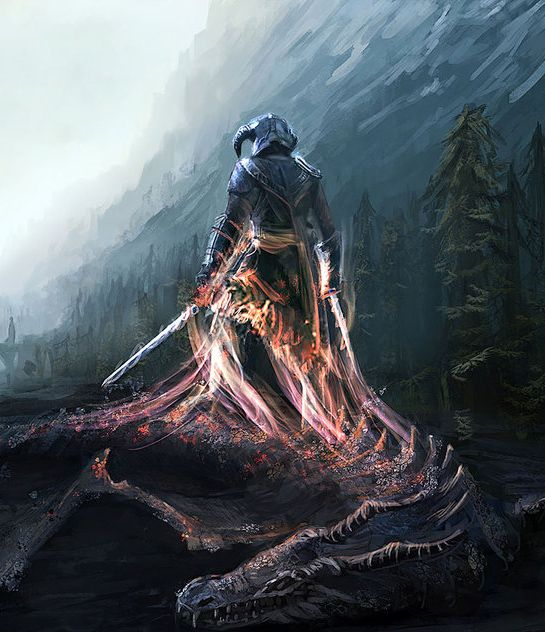 TES art,The Elder Scrolls,фэндомы,Skyrim