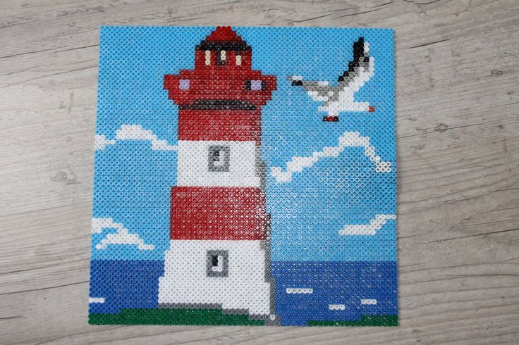 Lighthouse hama beads by camille2008