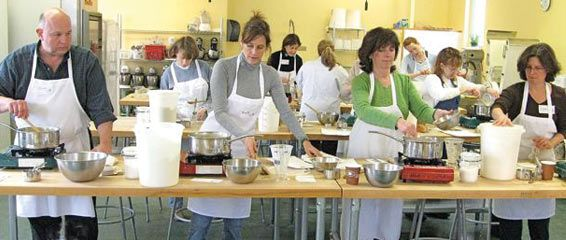 BAKING EDUCATION: they even have online classes. King Arthur  flour has been around for a long time. This is a GREAT site. (Cassiedi)