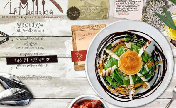 Restaurant Web Designs: 40 Yummy Cafe & Restaurant Websites and Trends