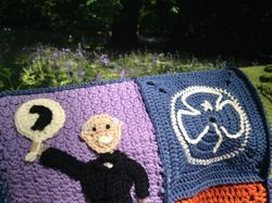 June 2014. The blanket for Knittingnovice's family.