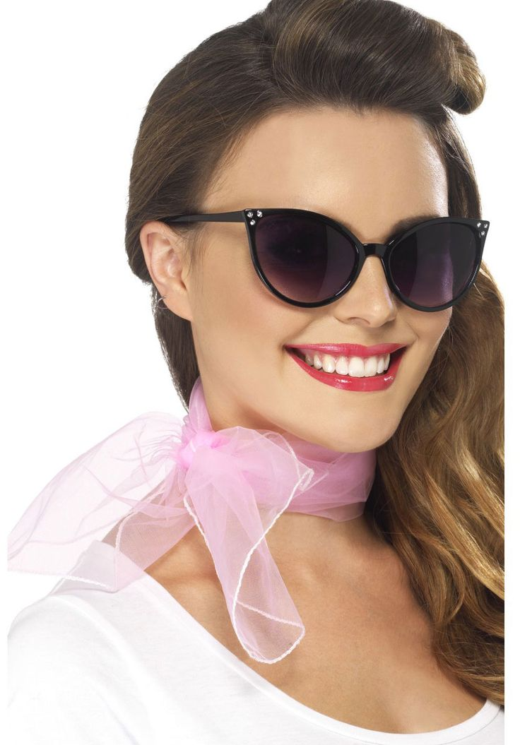1950's Neck Scarf, Retro Rock''n Roll Fancy Dress - We love great costume accessories ! To find out more about our #vintage hen parties contact us on 02086724586 or visit our website www.cheerleadingcompany.co.uk