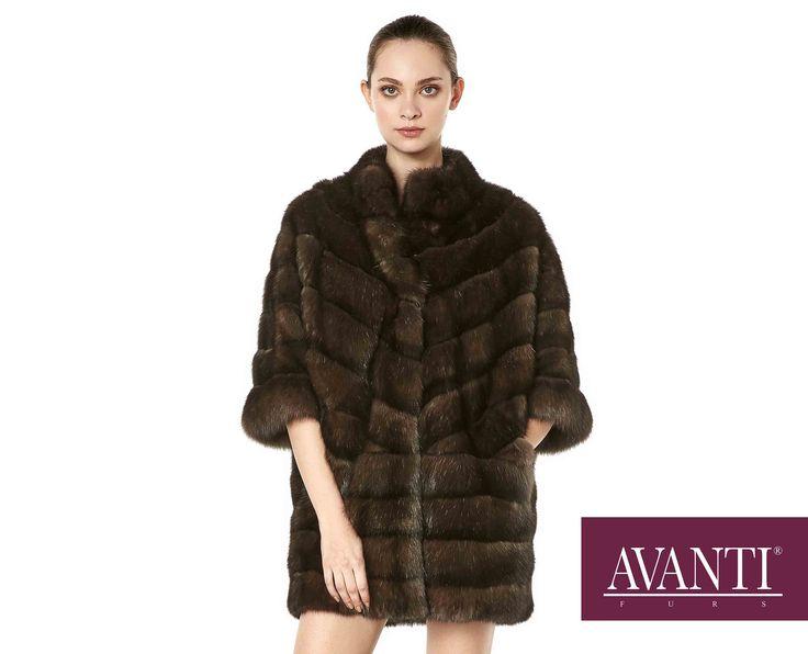 AVANTI FURS - MODEL: RENAZ SABLE JACKET with Mink Silk details #avantifurs #fur #fashion #fox #luxury #musthave #мех #шуба #стиль #норка #зима #красота #мода #topfurexperts