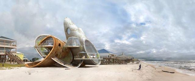 Die futuristische Architektur und utopische Welt von Dionisio González