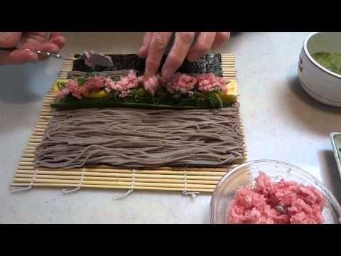 そば寿司の作り方 1~3 通し
