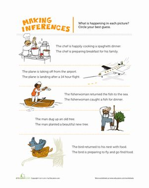Best 25+ Inference pictures ideas on Pinterest | Making inferences ...