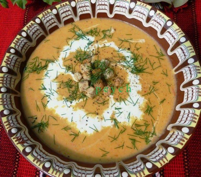 Добър апетит с Peych!: Есенна зеленчукова крем супа