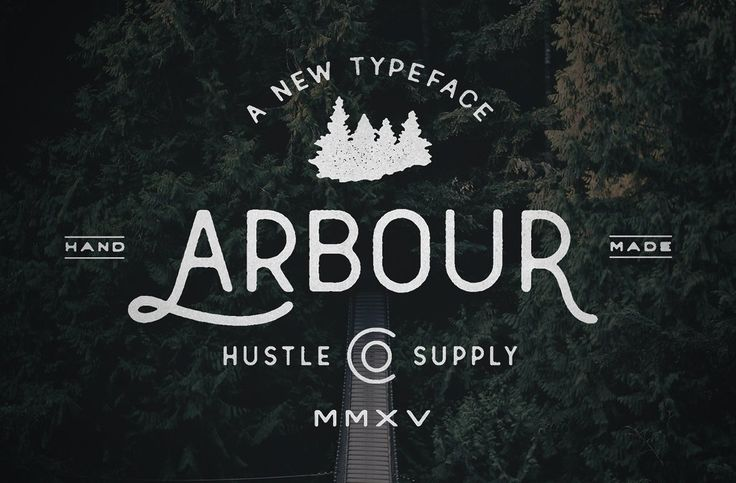 Arbour - Hand Drawn Font ~ Display Fonts on Creative Market
