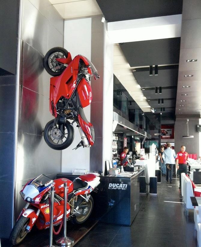 I wish I worked at Ducati