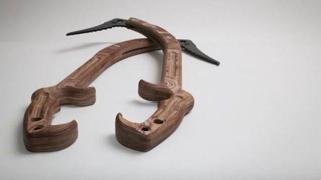 These Ice Tools Are Made From...Wood?