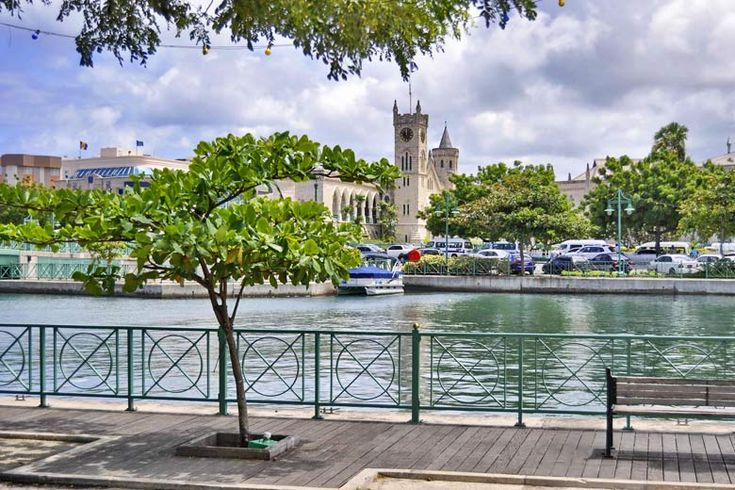 The Parliament buildings in Bridgetown, Barbados | Unmissable things to do in #Barbados | Weather2Travel.com #beach #caribbean #travel #holiday #sun