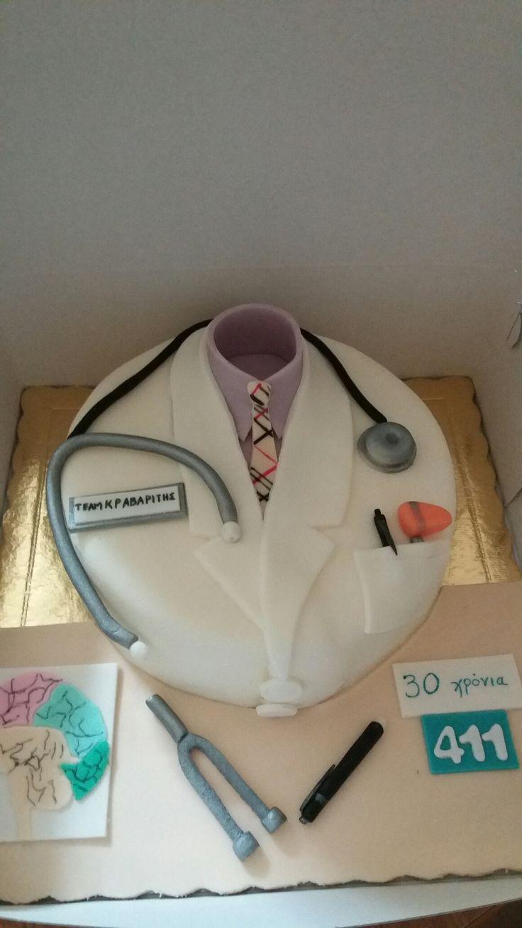 Neurologist cake