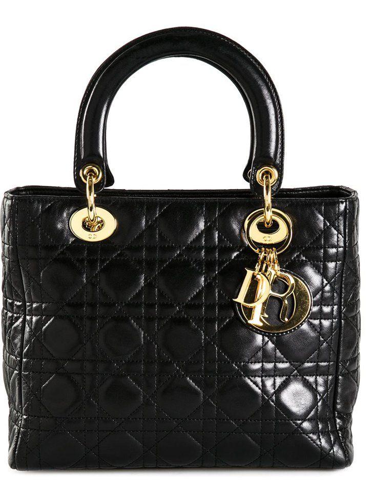 Pin for Later: Diese 14 Taschen wurden nach Promis benannt Lady Dior Tasche von Dior (2.616 €)