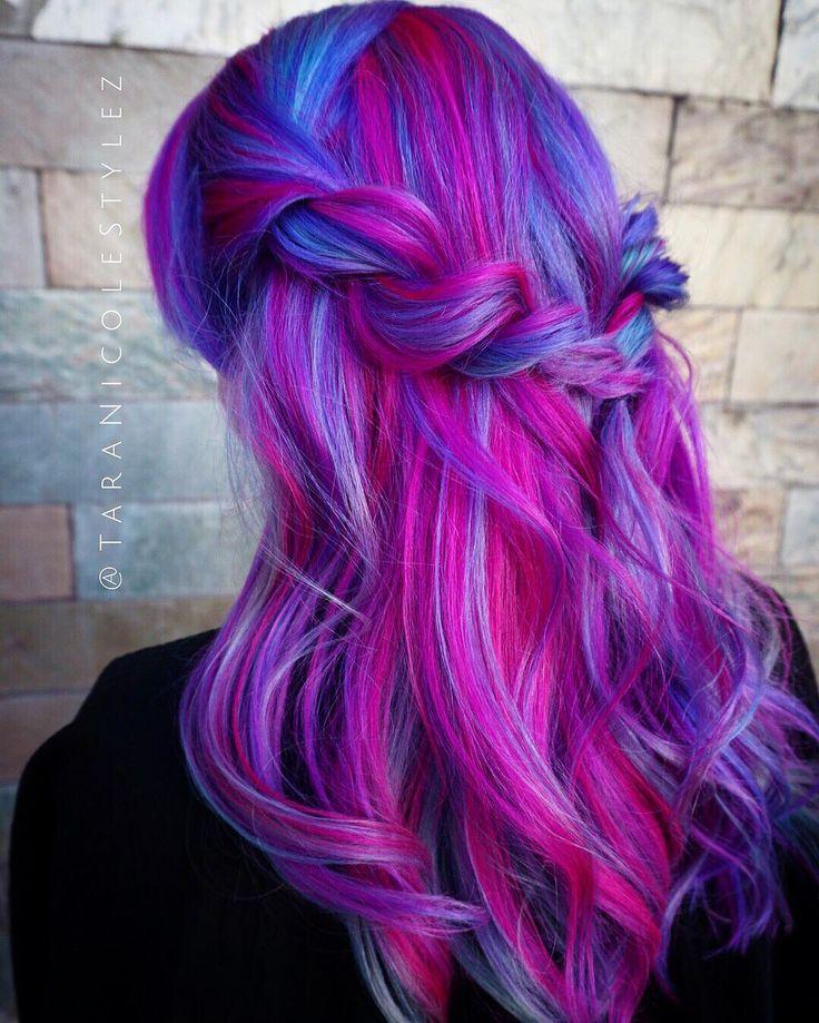 Unique Hair Color Tumblr