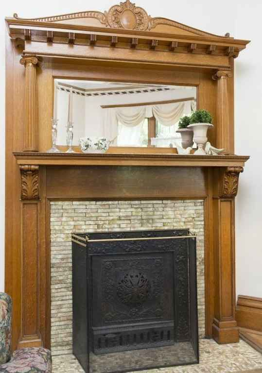 Tile Around Fireplace In 1897 Victorian Old House Dreams