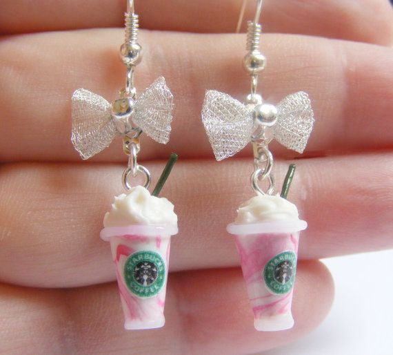 Starbucks inspired Strawberry Frappuccino Miniature by NeatEats @Tabitha Hodge you need these!