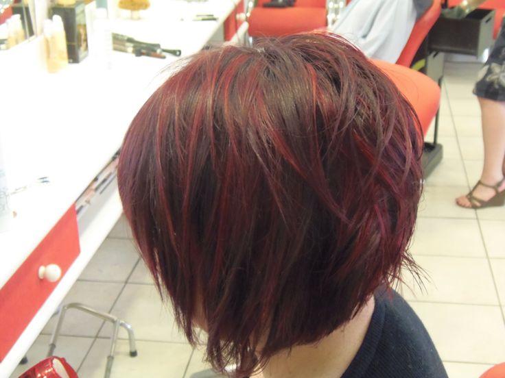 M ches rouge sur carr plongeant inspirations couleur pinterest m che rouge carr - Couleur carre plongeant ...