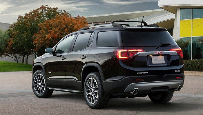 The 2019 Gmc Acadia Black Edition Is One Of The Special Suv