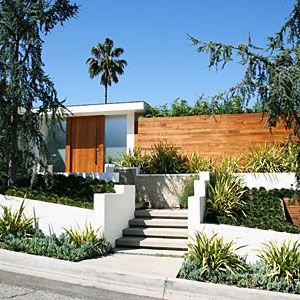 best 25 modern front yard ideas on pinterest large house numbers mid century landscaping and front yard fence ideas curb appeal - Modern Front Yard Garden Ideas