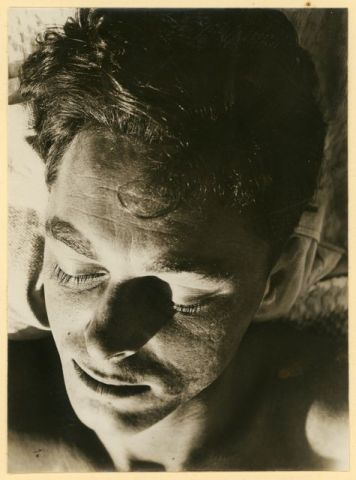 Etel Fodor-Mittag, Portrait Ernst Mittag (sleeping), 1930 Bauhaus-Archiv Berlin