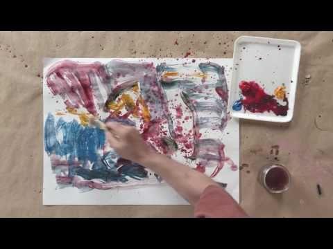 Vytvoření Abstraktní umění: 9 Neočekávaná inspirace DVD    NorthLightShop.com